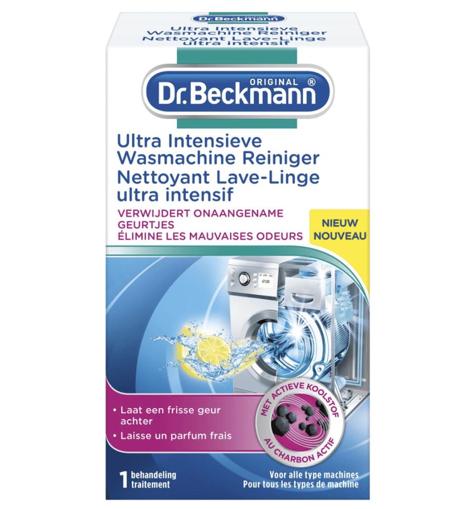 Dr. Beckmann wasmachine schoonmaken