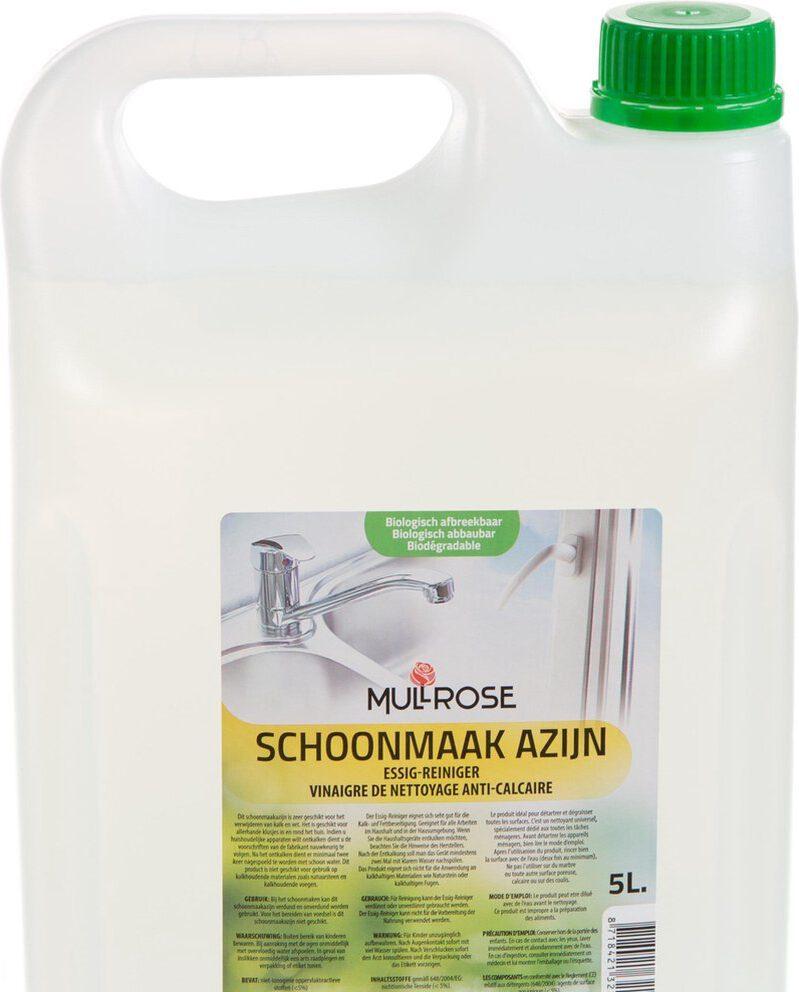 Vaatwasser azijn